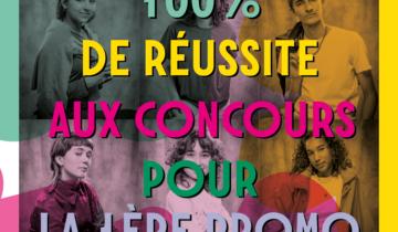 100% DE RÉUSSITE AUX CONCOURS